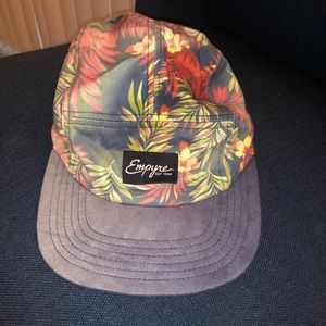 Floral 5 Panel Empyre Hat